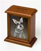 An image of a beloved pet that has passed can offer comfort following pet cremation.